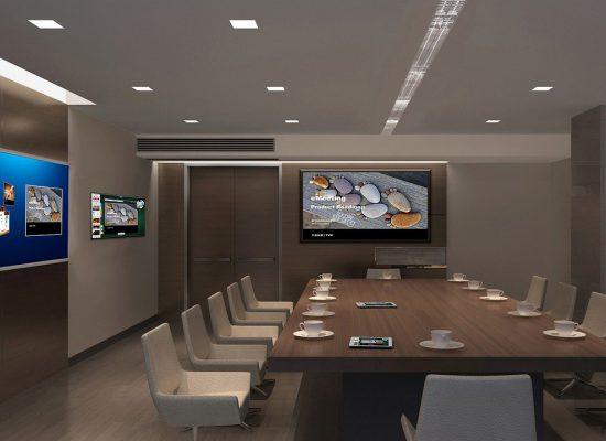 会議室のテレビ
