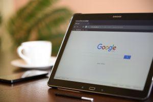 グーグル検索エンジン