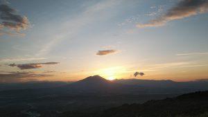 岩手山の夕焼け_20200812
