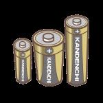 マンガンアルカリ乾電池