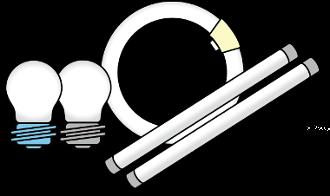 丸型直管蛍光管