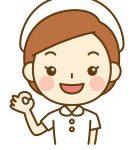 納得する看護師